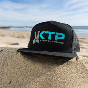 Keep the Peace Original Trucker hat Beach